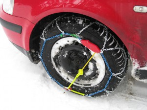 Packliste Skiurlaub Schneeketten Auto