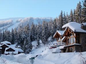 Skiurlaub im idyllischen Skigebiet