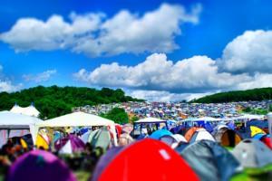 Festival Checkliste Camping Zelten