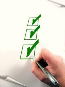 Checkliste Wohnungsbesichtigung