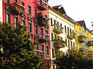 Wohnungsbesichtigung: Fassade