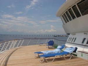 Auf Deck: Kreuzfahrt