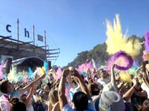 Holi Festival Farbe