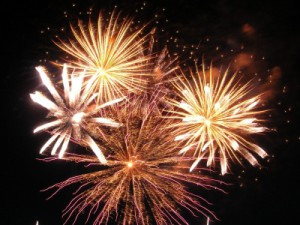 Silvester Highlight: Feuerwerk