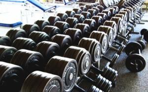 Hanteln Fitnessstudio