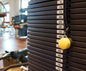 Krafttraining Fitnessstudio