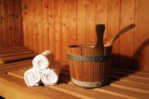 Sauna Fitnessstudio