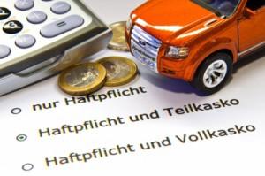 Versicherung für das Auto
