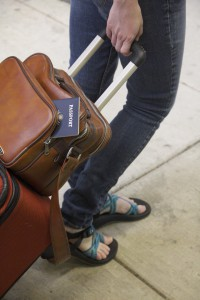 packliste au pair - koffer